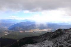 Bewegende wolk Royalty-vrije Stock Foto