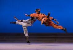 """Beweging STH evenwicht-Fairchild van de herten en de kraan - tweede handeling-Kunqu Opera""""Madame Witte Snake† Royalty-vrije Stock Foto's"""