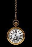 Beweging van tijdzwarte Royalty-vrije Stock Afbeelding