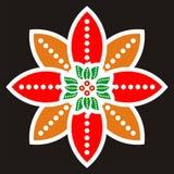 Beweging veroorzakende batik Royalty-vrije Stock Afbeelding