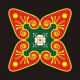 Beweging veroorzakende batik Stock Afbeeldingen