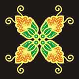 Beweging veroorzakende batik Royalty-vrije Stock Fotografie