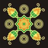 Beweging veroorzakende batik Royalty-vrije Stock Foto's
