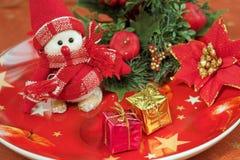 Beweging veroorzakende Kerstmis royalty-vrije stock foto's