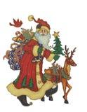 Beweging veroorzakende Kerstmis Stock Afbeeldingen