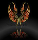 Beweging veroorzakende tatoegering Royalty-vrije Stock Afbeelding