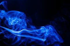 Bewegings blauwe rook Royalty-vrije Stock Fotografie