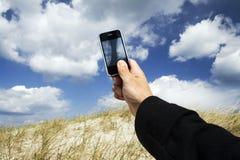 Bewegliche Fotographie der Wolken Lizenzfreie Stockbilder