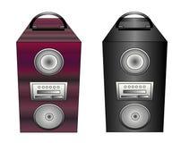 Bewegliche Lautsprecher Stockbilder