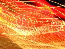 Bewegliche Leuchten lizenzfreie stockfotos