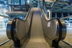 Bewegliche Rolltreppe Stockfoto