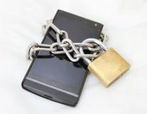Bewegliche Sicherheit lizenzfreie stockfotos