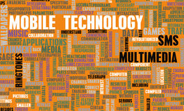 Bewegliche Technologie Lizenzfreie Stockfotos
