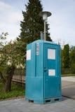 Bewegliche Toilette Lizenzfreie Stockfotos
