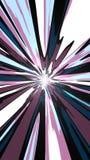 Beweglicher abstrakter Toon Wallpaper Lizenzfreie Stockbilder