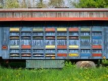 Beweglicher Bienenstock Lizenzfreies Stockfoto