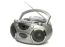 Beweglicher cd MP3-Player Stockbilder