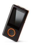 Beweglicher digitaler Audiospieler Stockfotos