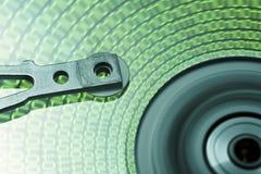 Bewegliches Festplattenlaufwerk kopf- one-two lizenzfreies stockbild