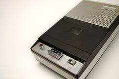 Beweglicher kompakter Kassettenrecorderschreiber Lizenzfreies Stockbild