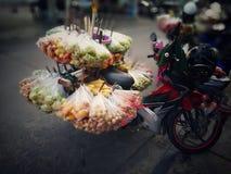 Beweglicher Markt Thailands Stockfotos
