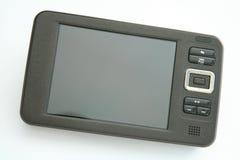 Beweglicher Multimedia-Spieler Stockbild