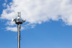 Beweglicher Turm im Himmel Lizenzfreies Stockfoto