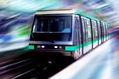 Beweglicher Zug Stockbilder