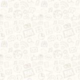 Bewegliches apps Muster Lizenzfreies Stockbild