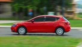 Bewegliches Auto Lizenzfreie Stockfotos