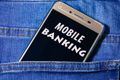 Bewegliches Bankwesen Stockbilder