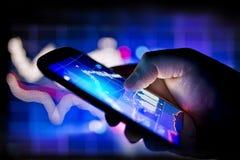 Bewegliches globales Geschäft Lizenzfreie Stockfotos