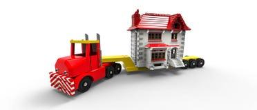 Bewegliches Haus Stockbilder