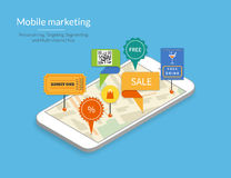 Bewegliches Marketing Stockbilder