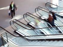 Bewegliches Treppenhaus Stockfoto