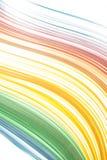 Bewegt abstrakte Farbe lokalisiertes Weiche Hintergrund wellenartig Stockfotografie