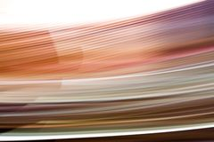 Bewegung 3. Motion blur because of a long shutter speed. No Photoshop-Filters. Looking best as a big print Stock Photo