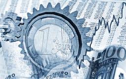 Bewegung in den Finanzmärkten Stockfotos