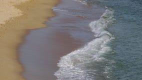 Bewegung der Wellen stock video footage