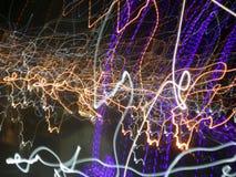 Bewegung des Lichtes Stockbilder