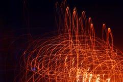 Bewegung des Lichtes Lizenzfreies Stockfoto