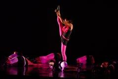 Bewegung des modernen Tanzes Lizenzfreies Stockbild