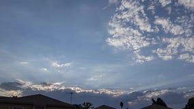 Bewegung Timelapse des schönen cloudscape stock video footage