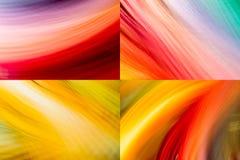 Bewegung und Farben lizenzfreies stockbild
