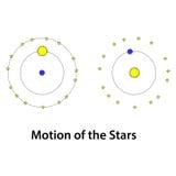 Bewegung von Sternen Lizenzfreie Stockbilder