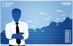 Bewegung zum Erfolg Lizenzfreie Stockfotos