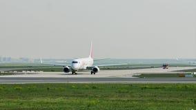 Bewegungen in Frankfurt-Flughafen, FRA stock video