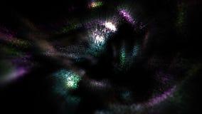 Bewegungs-abstrakte Partikel stock footage