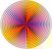 Bewegungs-Mandala stock abbildung