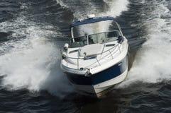 Bewegungsboot Stockfoto
